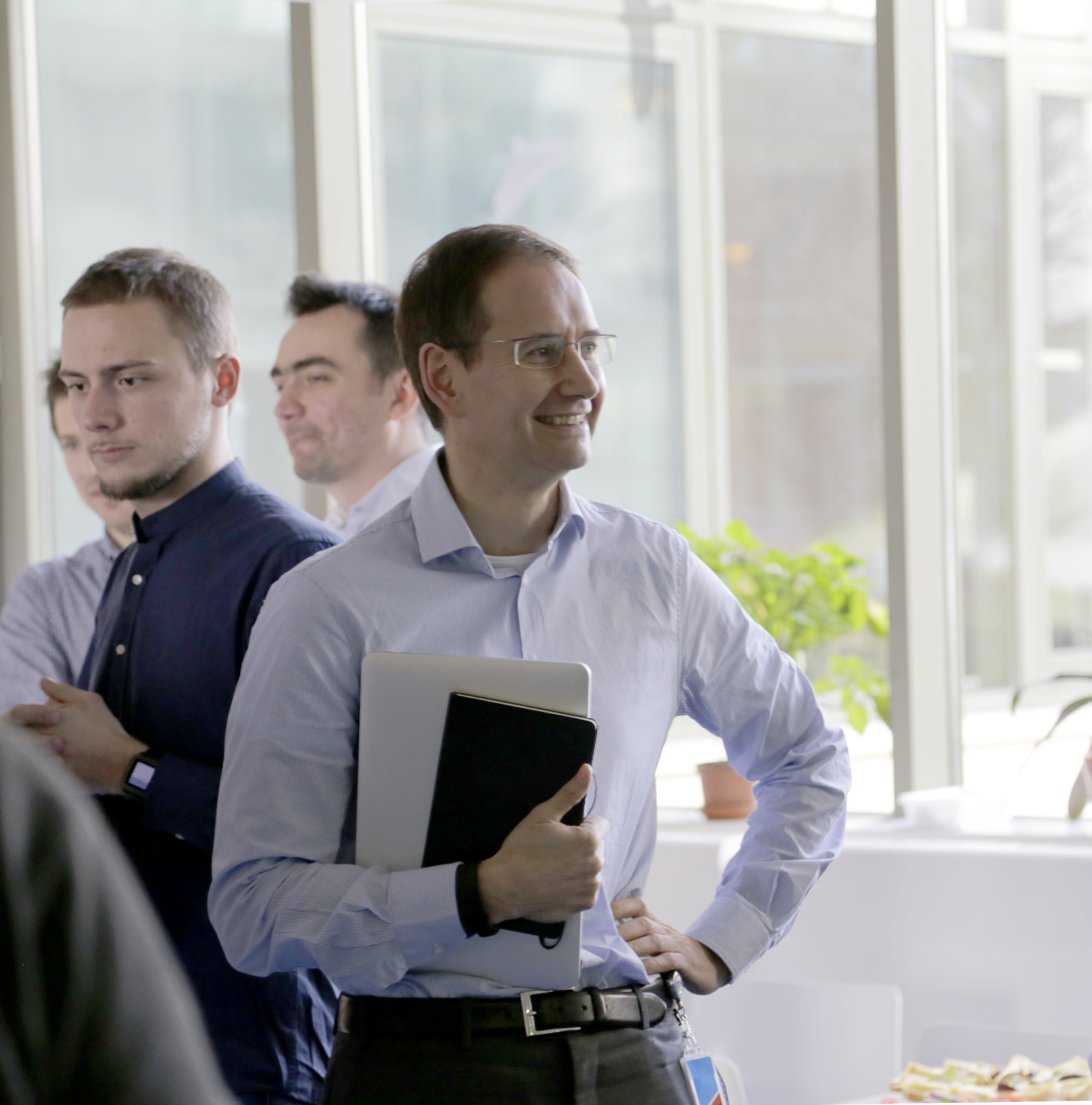 Giles Shrimpton, CEO of NNG, at an NNG Event.