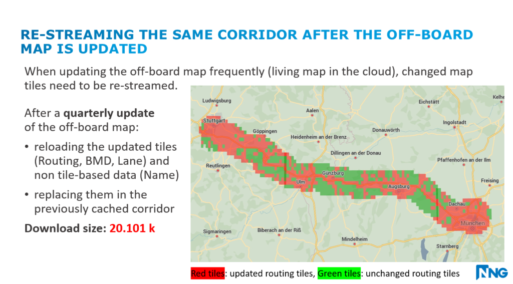Cloud Navigation, Live-Maps, NNG, NDS, Streaming, Delta-Compression, Navigation Data Standard, Otto Nyiro, NNG, Cellular Data, Redcued, Reduction, Low-Cost Data Streaming, Low-Cost, Data, Low-Cost Data, Low Cost, Low-Cost Data Streaming