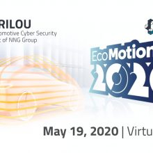 Ecomotion week 2020 virtual exhibition, Arilou, cyber-security, iot, infosec, automotive, smart mobility, electric vehicles, mobility, v2x